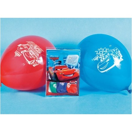 Set 12 baloane Cars