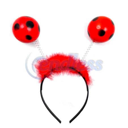 Coronita antene buburuza