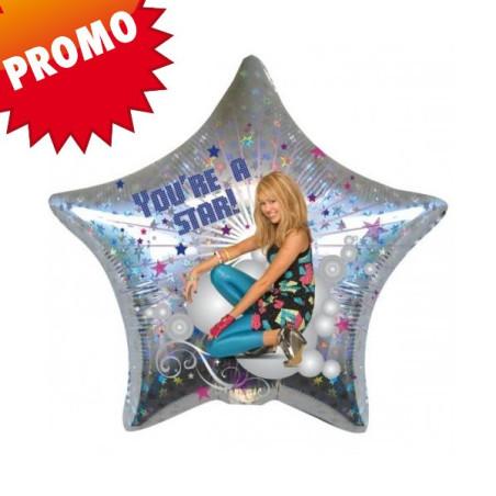 Balon folie 45 cm Hannah Montana STAR
