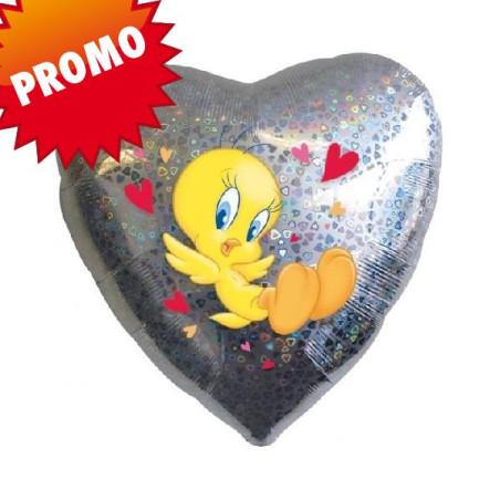 Balon folie 45 cmTweety Hearts