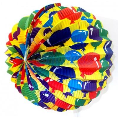Lampion party sferic pentru agatat