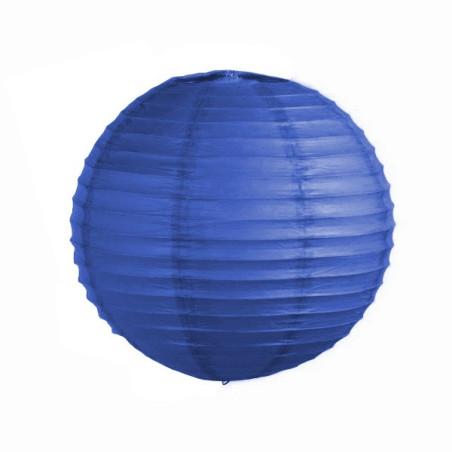 Lampion albastru sferic