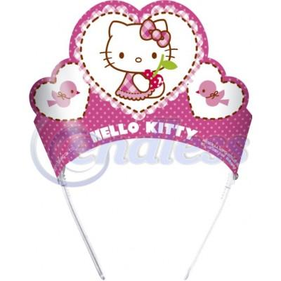 Set 6 coronite Hello Kitty Hearts