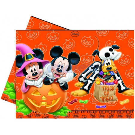 Fata de masa plastic Mickey Halloween