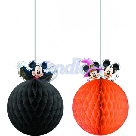 Set 2 decoratiuni party Mickey Halloween