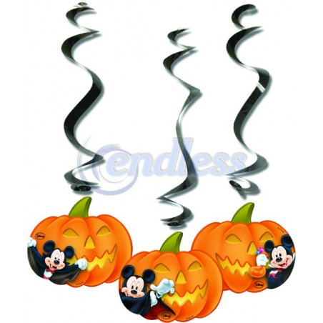 Set 3 decoratiuni de agatat Mickey Halloween