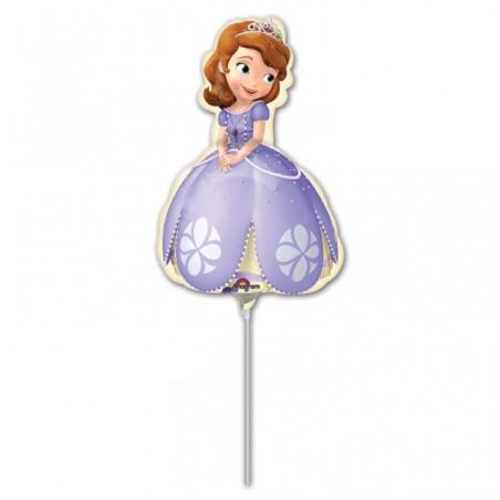 Balon mini figurina Printesa Sofia