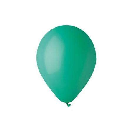 100 baloane rotunde verde inchis standard