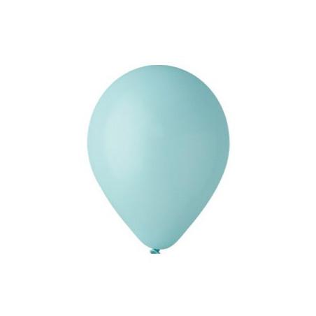 100 baloane rotunde aquamarine standard