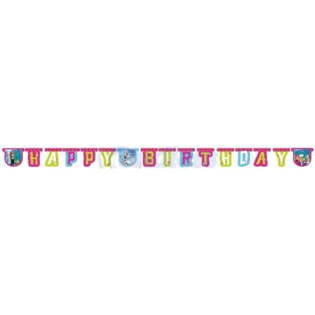 Banner Happy Birthday Frozen