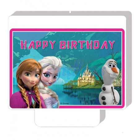 Lumanare party Happy Birthday Frozen