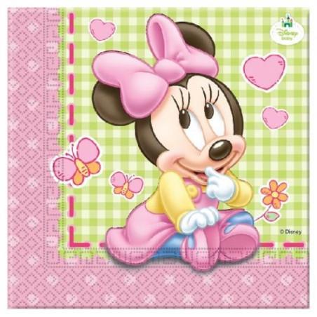 Set 20 servetele party Minnie Baby