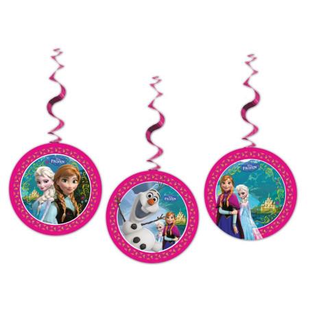 Set 3 decoratiuni party Frozen