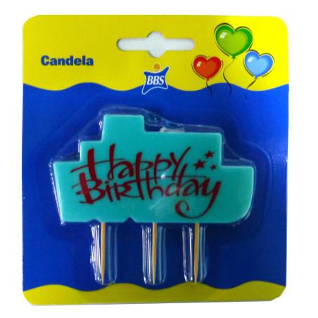 Lumanare party Happy Birthday