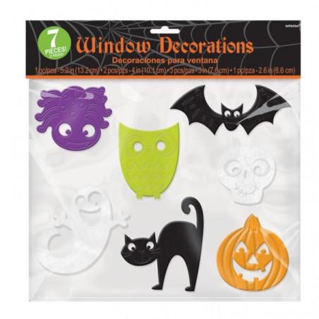 Decoratiuni geam Halloween