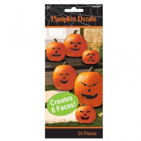 Decoratiuni pentru lipit pe dovleci Halloween