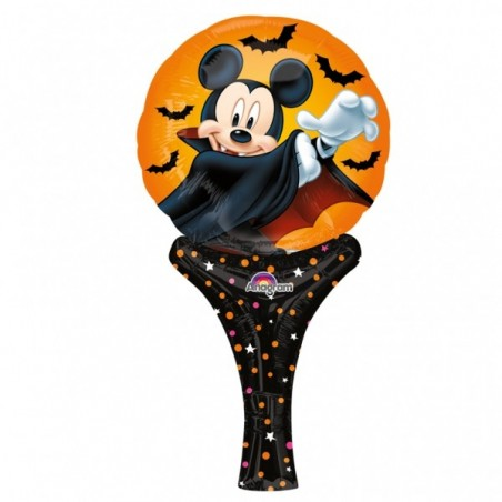 Balon mini folie inflate a fun Mickey Dracula