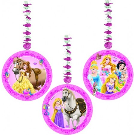 Set 3 spirale Printese Disney