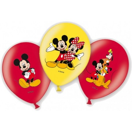 Set 6 baloane latex Mickey Mouse