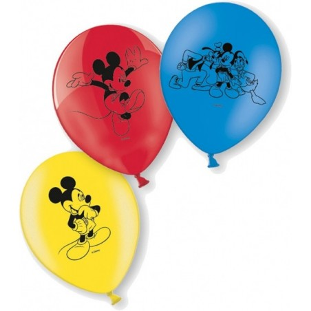 Set 10 baloane latex Mickey Mouse