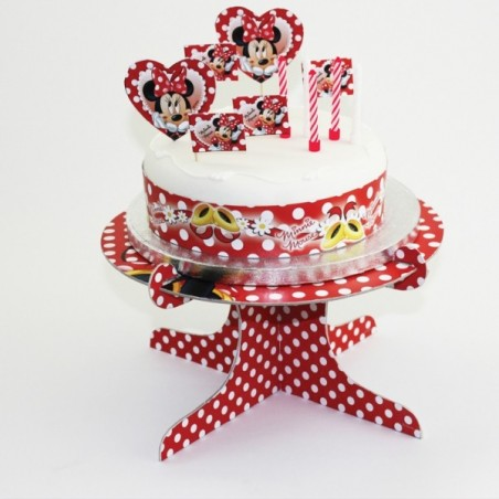 Kit decoratiuni tort Minnie