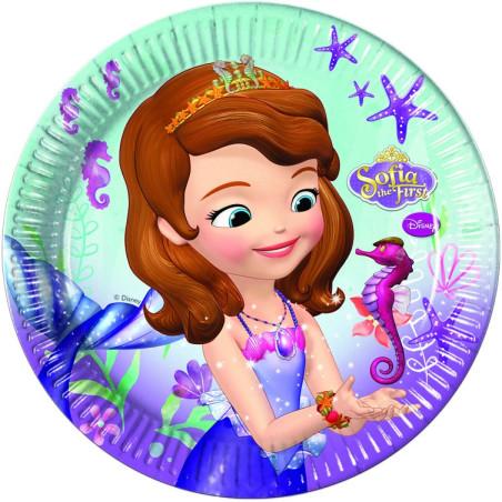 Set 8 farfurii 23 cm Sofia Pearl of the Sea