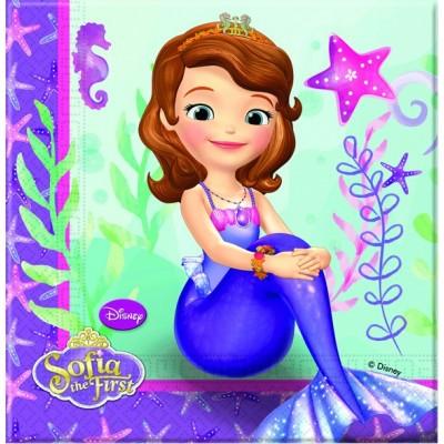 Set 20 servetele Sofia Pearl of the Sea