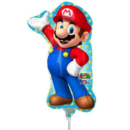 Balon mini figurina Super Mario