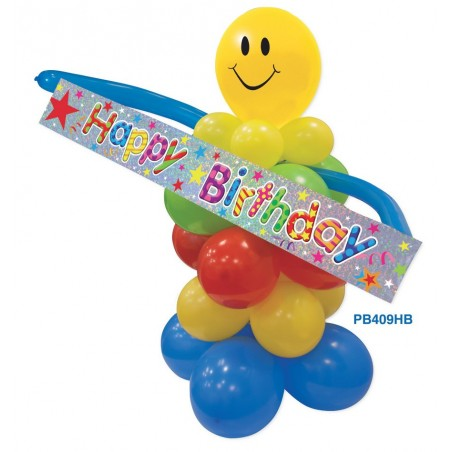 Kit Decor Smiley Happy Birthday