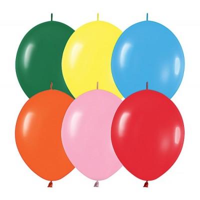 Set 100 baloane asortate 33 cm cony - link o loon