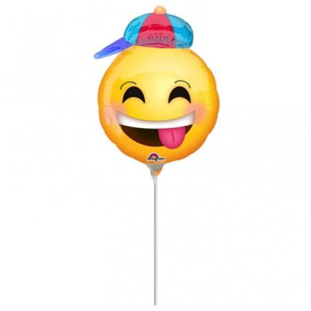Balon mini figurina Smiley Face