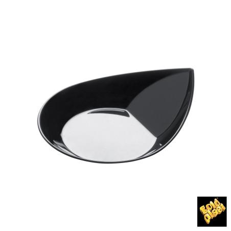 Set 50 farfurii negre SMART 85 mm