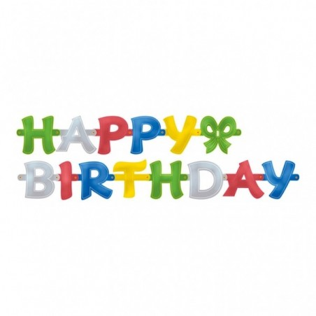 Banner litere color Happy Birthday