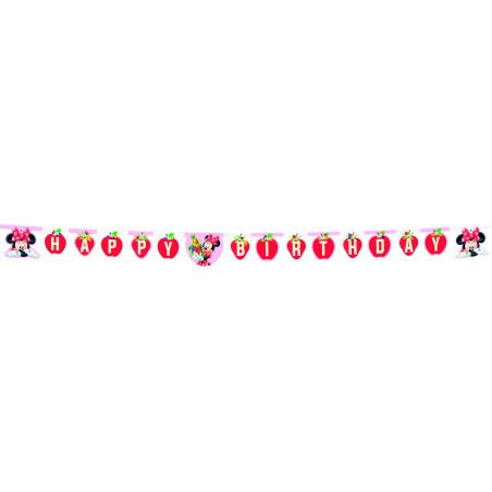 Banner Happy Birthday Minnie Jam