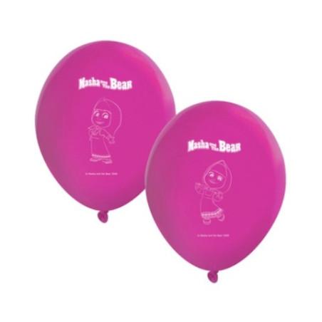 Set 8 baloane party Masha si Ursuletul
