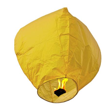 Lampion zburator galben