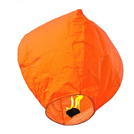 Lampion zburator orange