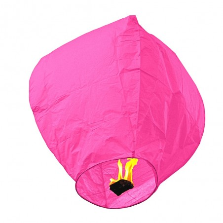 Lampion zburator roz