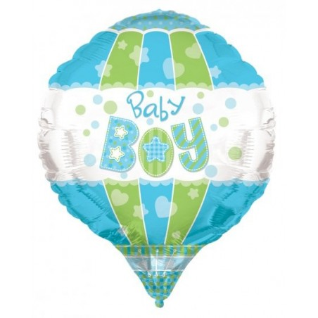 Balon folie aerostatic Baby Boy 3D