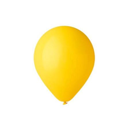 100 baloane rotunde galbene standard