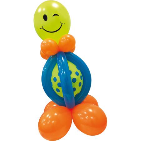 Mini kit baloane Smiley