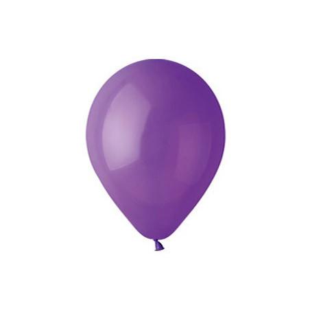 100 baloane rotunde mov standard