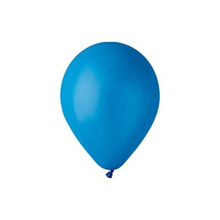 100 baloane rotunde albastru standard