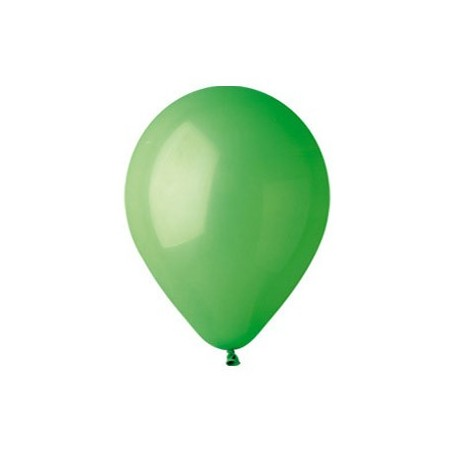 100 baloane rotunde verde standard