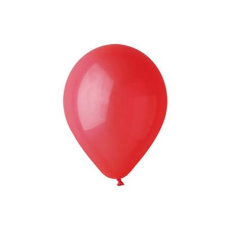 100 baloane rotunde rosu inchis standard