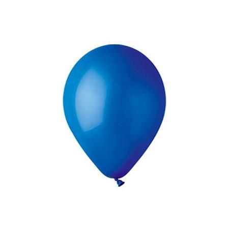 100 baloane rotunde albastru inchis standard