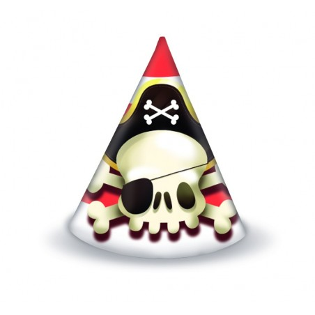 Set 6 coifuri party Powerful Pirates