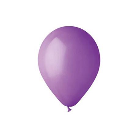100 baloane rotunde lavanda standard