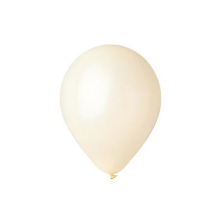 100 baloane rotunde crem standard