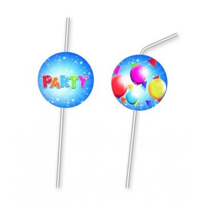 Set 6 paie pentru baut Fabulous Party